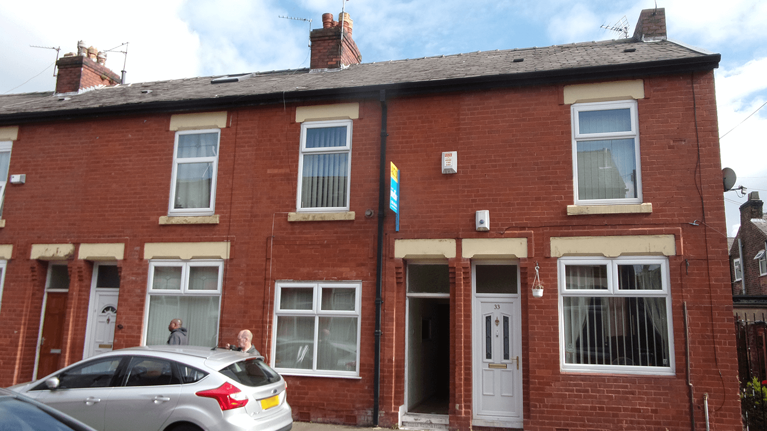 Warrington terraced home
